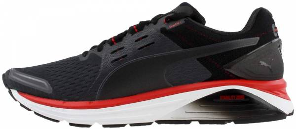 Puma Speed 1000 S Ignite Asphalt-puma Black-flame Scarlet