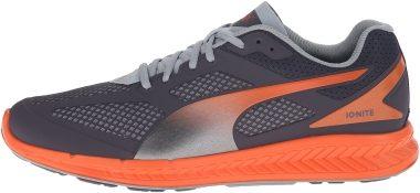 Puma Ignite Mesh Periscope/Quarry/Vermillion Orange Men