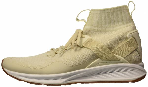 Puma Ignite EvoKNIT - Beige (Birch-whisper White- White)