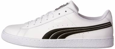 Puma Basket Classic Badge - White (36255001)