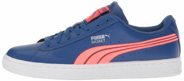 Puma Basket Classic Badge - True Blue-bright Plasma (36255004)