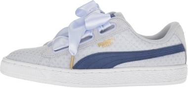 Puma Basket Heart Denim - Blue (36337102)