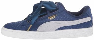 Puma Basket Heart Denim - Twilight Blue Halogen Blue