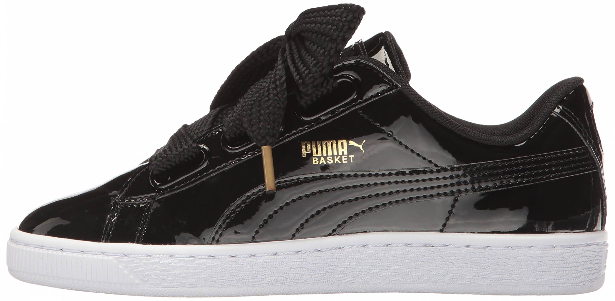 Puma Basket Heart Patent sneakers in 6 colors (only $55) | RunRepeat