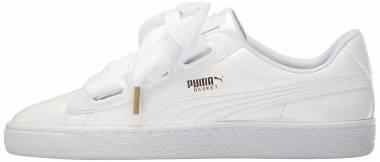 Puma Basket Heart Patent - White (36307302)