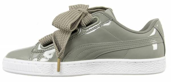 de madera Privilegiado Goma  Only £22 + Review of Puma Basket Heart Patent | RunRepeat