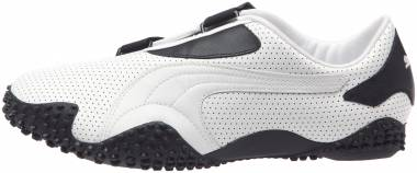 Puma Mostro Perf Leather - Blanc 01white Black