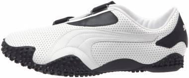 Puma Mostro Perf Leather - White/Black (35141301)