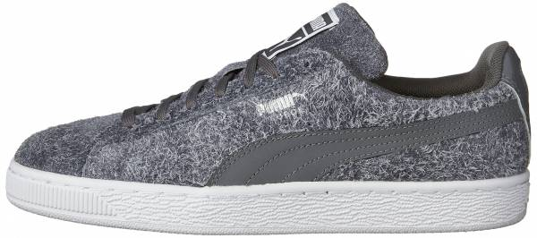Puma Suede Elemental - Steel Gray-Puma White (36111201)