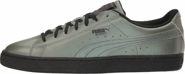 Puma Basket Classic Holographic - Silver