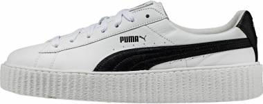 best service 84941 ba929 Puma by Rihanna Creeper White Leather