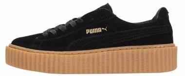 Puma x Rihanna Suede Creeper - Schwarz Gum