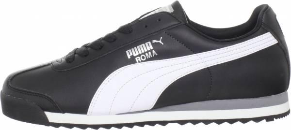 Puma Roma Black/White/Silver