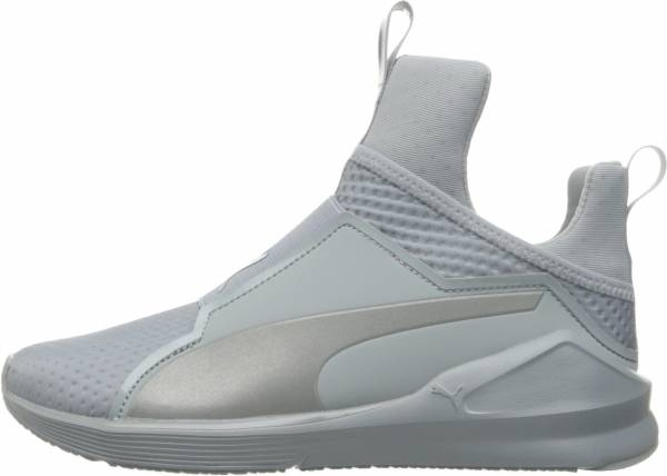 Puma Fierce Quilted - Quarry/Puma Silver