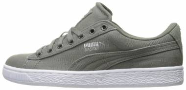 Puma Basket Classic Canvas - Grey (36361503)