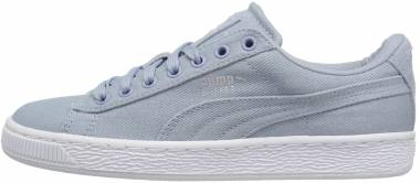 Puma Basket Classic Canvas - Blue Fog