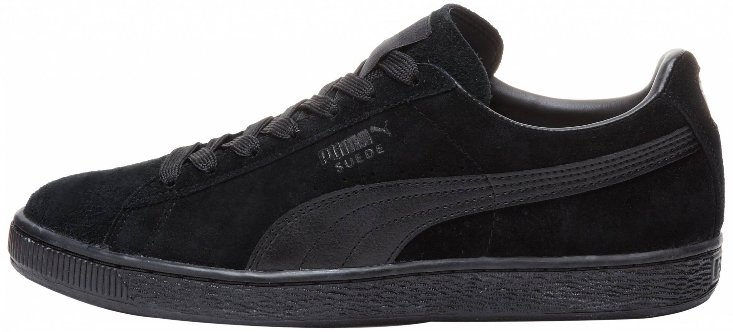Puma Suede Classic LFS sneakers in black (only $45) | RunRepeat