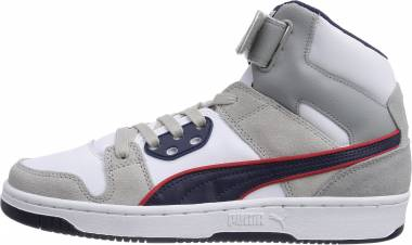 Puma Rebound Street SD - Grau (Gray Violet-peacoat-high Risk Red 05)