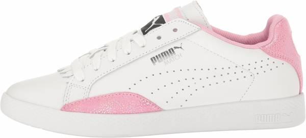 Puma Match Lo Reset - Puma White-prism Pink