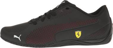Puma Ferrari Drift Cat 5 Ultra - Puma Black-rosso Cor