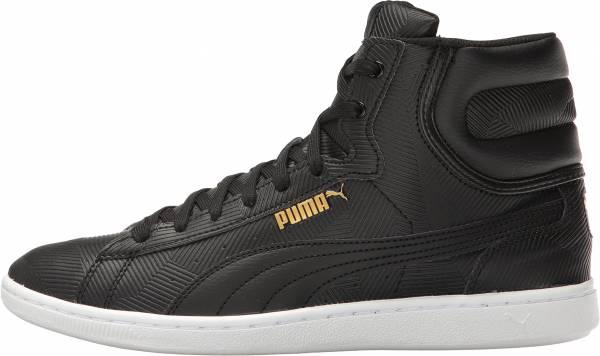 Puma Vikky Mid Deboss Black
