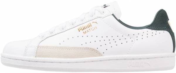 Puma Match 74 UPC Low Top Leather Mens Trainers White