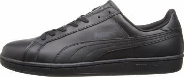 Puma Smash Leather - Noir Black Dark Shadow 04 (35672204)