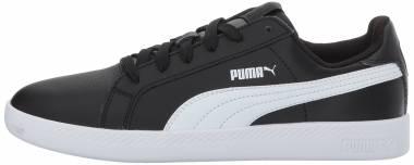 Puma Smash Leather Black/White Men