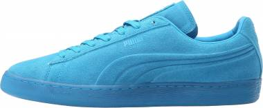 Puma Suede Emboss Iced Fluo Blue Men