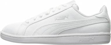 Puma Smash Deboss - White