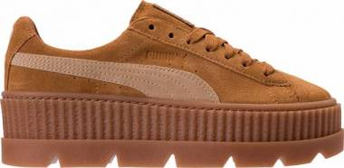 Puma Fenty Suede Cleated Creeper - Brown