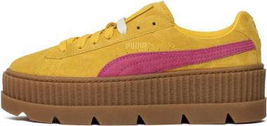 Puma Fenty Suede Cleated Creeper - Yellow