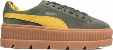 Puma Fenty Suede Cleated Creeper - Green
