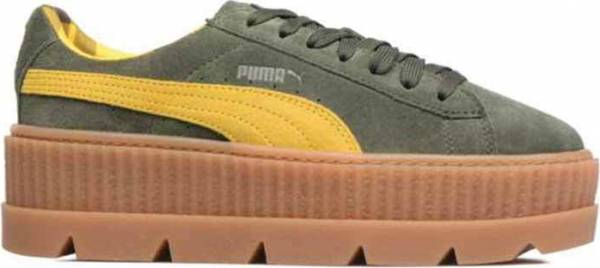 Puma Fenty Suede Cleated Creeper - Green (36626801)