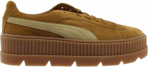 Puma Fenty Suede Cleated Creeper - Golden Brown Lark (36626702)