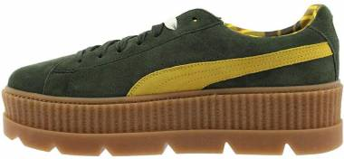 Puma Fenty Suede Cleated Creeper - Green (36626701)