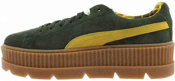 pretty nice 8a471 c648d Puma Fenty Suede Cleated Creeper