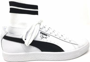 Puma Clyde Sock NYC White/Black Men