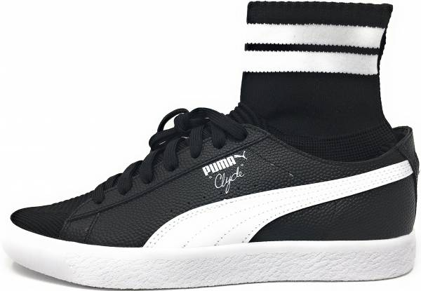 huge discount bf006 d877a Puma Clyde Sock NYC Black White