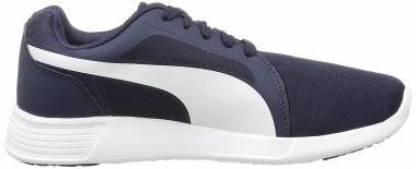 Puma ST Trainer Evo - Blau Peacoat White 02