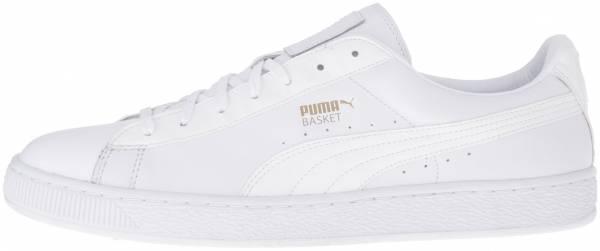 Puma Basket Classic Animal Croc White