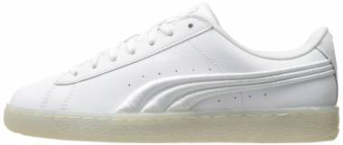 Puma Basket Classic Badge Iced - White