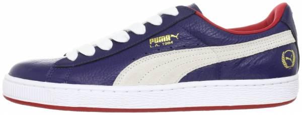 Puma Basket Classic LA Blau / Weiß / Rot (Blau / Weiß / Rot)