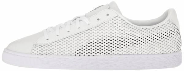 Puma Basket Classic Summer Shade White