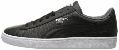 Puma Basket Classic Textured - Black