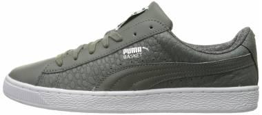 Puma Basket Classic Textured - Grey
