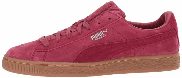 Puma Basket Classic Weatherproof Red