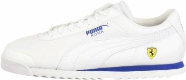 Puma Ferrari Roma - Puma White-puma White-galaxy Blue (30608311)