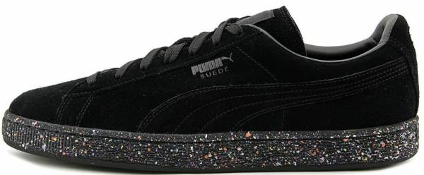 Puma Suede Classic Multi Splatter Black