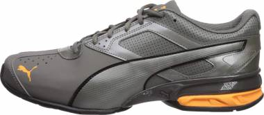 Puma Tazon 6 FM - Charcoal Gray Orange Pop